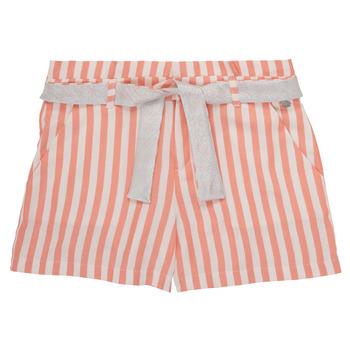 textil Niña Shorts / Bermudas Ikks BADISSIO Naranja