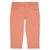 textil Niña Pantalones con 5 bolsillos Ikks CARLOTTA Naranja