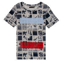 textil Niño Camisetas manga corta Ikks JULIEN Beige