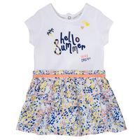 textil Niña vestidos cortos Ikks NIKLO Blanco