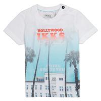 textil Niño camisetas manga corta Ikks JOSIANE Blanco