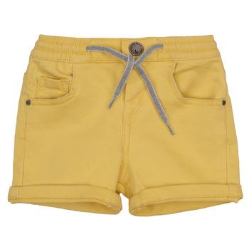 textil Niño Shorts / Bermudas Ikks XAVIER Amarillo
