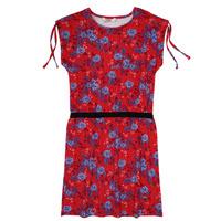 textil Niña vestidos cortos Kaporal JUNE Rojo