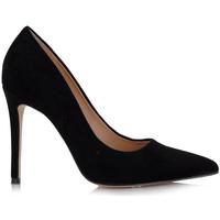 Zapatos Mujer Zapatos de tacón Exé Shoes ZAPATO TACÓN ANTE NEGRO JESSICA-333 Color Negro