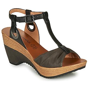 Zapatos Mujer Sandalias Chattawak JENNY Negro