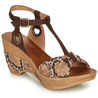 Zapatos Mujer Sandalias Chattawak JENNY Serpiente