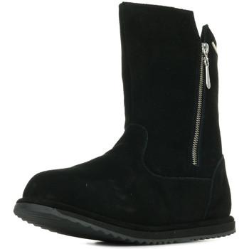 Zapatos Niña Botas urbanas EMU Gravelly Teens Negro