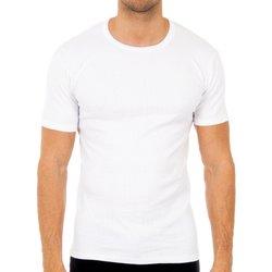 Ropa interior Hombre Camiseta interior Abanderado Pack-3 camisetas m/c invierno blan Blanco