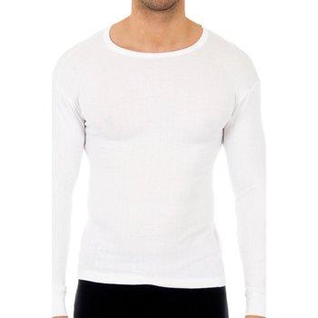 Ropa interior Hombre Camiseta interior Abanderado Pack-3 camisetas algodón m.larga Blanco