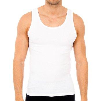 Ropa interior Hombre Camiseta interior Abanderado Pack-6 camisetas tirantes caballero Blanco