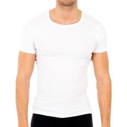 Ropa interior Hombre Camiseta interior Abanderado Pack-6 camisetas manga corta cab Blanco