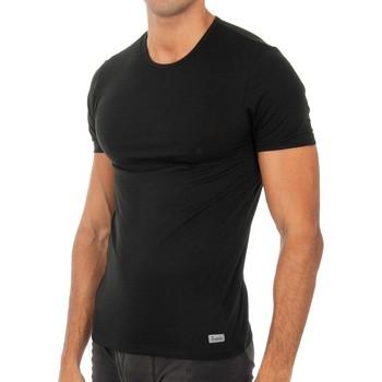 Ropa interior Hombre Camiseta interior Abanderado Camiseta m.corta Termal Tech Negro
