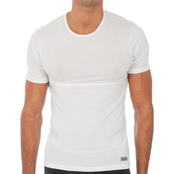 Ropa interior Hombre Camiseta interior Abanderado Camiseta m.corta Termal Tech Blanco