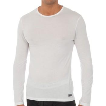 Ropa interior Hombre Camiseta interior Abanderado Camiseta m.larga Termal Tech Blanco