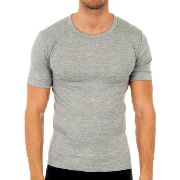Ropa interior Hombre Camiseta interior Abanderado Pack-3 camisetas fibra m/c blanco Gris