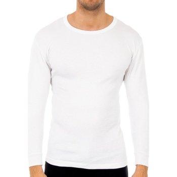 Ropa interior Hombre Camiseta interior Abanderado Pack-3 camisetas fibra m/l blanco Blanco