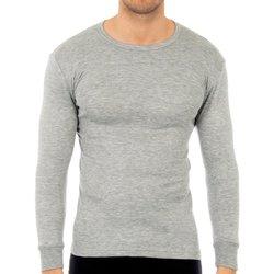 Ropa interior Hombre Camiseta interior Abanderado Pack-3 camisetas fibra m/l blanco Gris