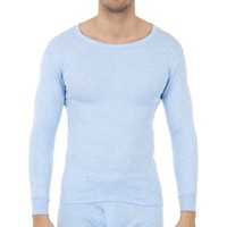 Ropa interior Hombre Camiseta interior Abanderado Pack-3 camisetas fibra m/l blanco Celeste