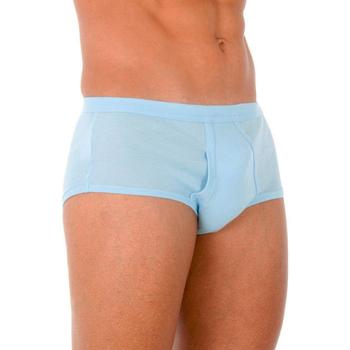 Ropa interior Hombre Calzoncillos Abanderado Pack-6 slips caballero blanco Azul