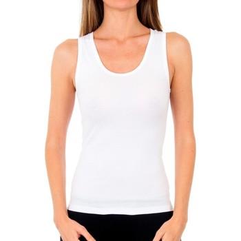 Ropa interior Mujer Camiseta interior Abanderado Pack 3 camiseta tirantes algodón Blanco