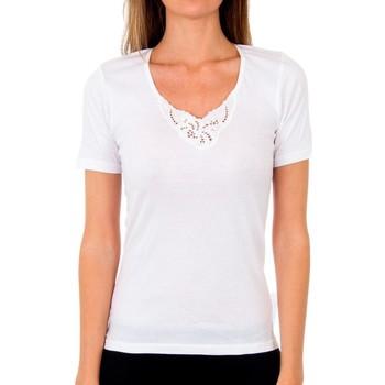 Ropa interior Mujer Camiseta interior Abanderado Pack-3 Cubre pr.m/c milan blanco Blanco