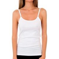 Ropa interior Mujer Camiseta interior Abanderado Pack 3 Camiseta pr.liberty trt blanco Blanco