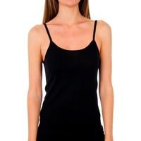 Ropa interior Mujer Camiseta interior Abanderado Pack 3 Camiseta pr.liberty trt blanco Negro