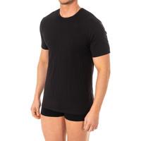 Ropa interior Hombre Camiseta interior Abanderado Camistea X-Temp m/corta Negro