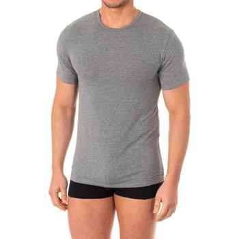 Ropa interior Hombre Camiseta interior Abanderado Camistea X-Temp m/corta Gris