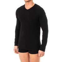 Ropa interior Hombre Camiseta interior Abanderado Camiseta X-Temp m/larga Negro