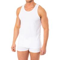 Ropa interior Hombre Camiseta interior Abanderado Camiseta X-Temp de tirantes Blanco