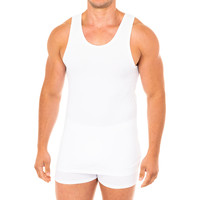 Ropa interior Hombre Camiseta interior Abanderado Camiseta Advanced tirantes Blanco