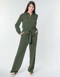 textil Mujer Monos / Petos MICHAEL Michael Kors ROLL SLV SAFARI JMPST Kaki