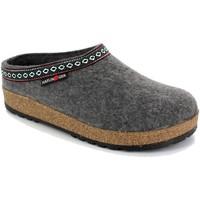Zapatos Mujer Pantuflas Haflinger HF-FRANZL-ant-D GRIGIO