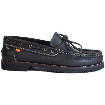 Zapatos Mujer Mocasín La Valenciana Zapatos Apache  Olivenza Negro Negro