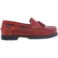 Zapatos Mujer Mocasín La Valenciana Zapatos Apache  Montijo Rojo Rojo