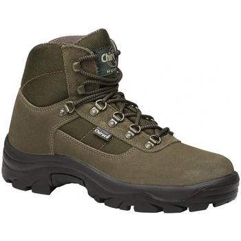 Zapatos Hombre Zapatillas altas Chiruca Botas  Perdiguero 01 Verde