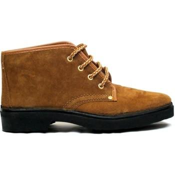 Zapatos Hombre Botas de caña baja Vallera Botas  309 Arena Marrón