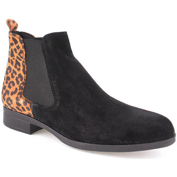 Zapatos Mujer Botines Bc L Ankle boots Lady Negro