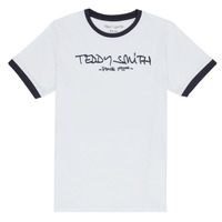 textil Niño camisetas manga corta Teddy Smith TICLASS 3 Blanco