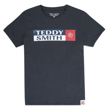 textil Niño Camisetas manga corta Teddy Smith TOZO Marino