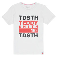 textil Niño camisetas manga corta Teddy Smith DUSTIN Blanco