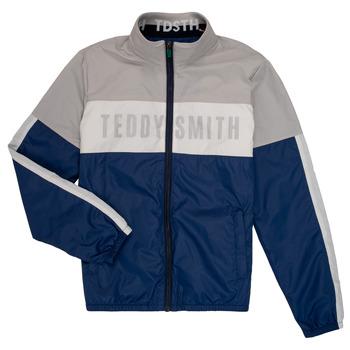 textil Niño cazadoras Teddy Smith HERMAN Gris / Marino