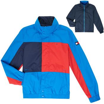 textil Niño cazadoras Tommy Hilfiger MARION Azul