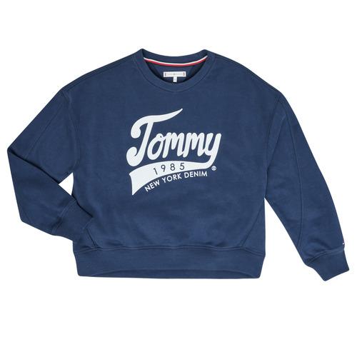 textil Niña Sudaderas Tommy Hilfiger KG0KG04955 Marino