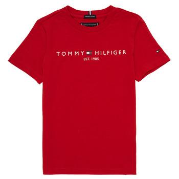 textil Niño camisetas manga corta Tommy Hilfiger  Rojo