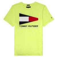textil Niño camisetas manga corta Tommy Hilfiger  Amarillo