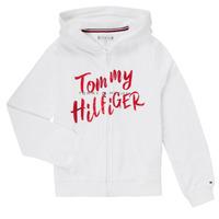 textil Niña Sudaderas Tommy Hilfiger KG0KG05043 Blanco