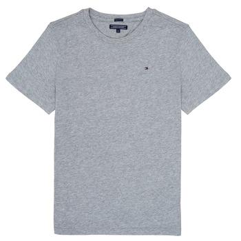 textil Niño Camisetas manga corta Tommy Hilfiger KB0KB04140 Gris