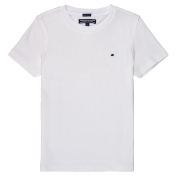 textil Niño camisetas manga corta Tommy Hilfiger KB0KB04140 Blanco